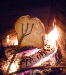 Тост на огне