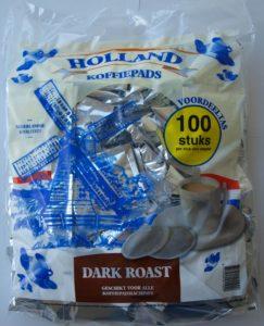Упаковка кофейных чалд