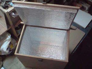 Холодильник из ящика