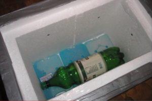 Холодильник из пенопласта