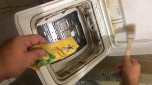 Промывка стиральной машины