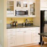 микроволновка на кухне варианты размещения