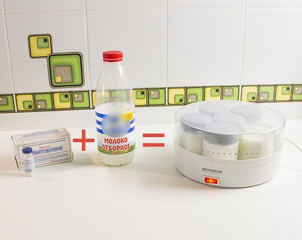 принцип работы йогуртницы
