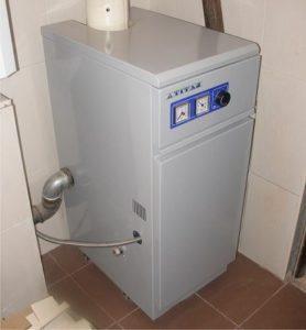 Напольное размещение газового котла