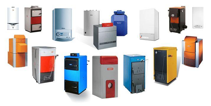Разнообразие газовых котлов.