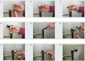 Порядок крепления водяного полотенцесушителя к стене ванной