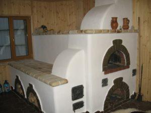 Русская печь с лежанкой.