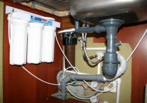 Требования к месту установки фильтров для воды