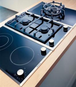 газовая и индукционная плита