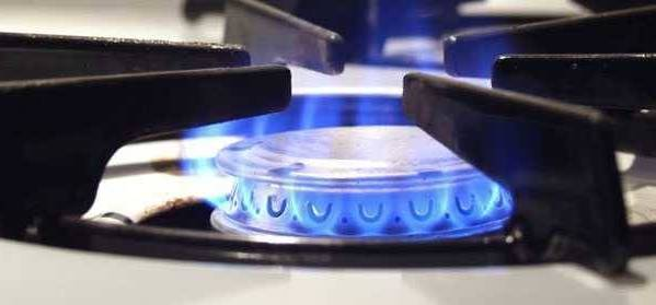 горение газа