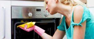 как чистить корпус газовой плиты
