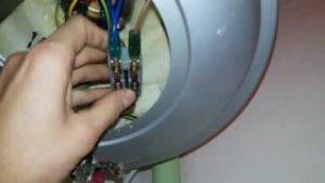 проверка контактной лампой