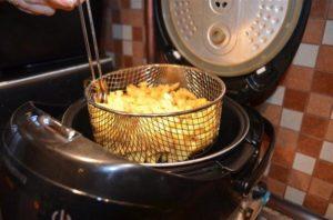 Картофель фри из мультиварки