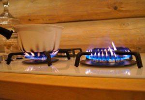 коптит газовая плита