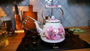 Стерилизация на носике чайника