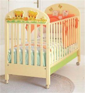 Чем покрасить детскую кроватку