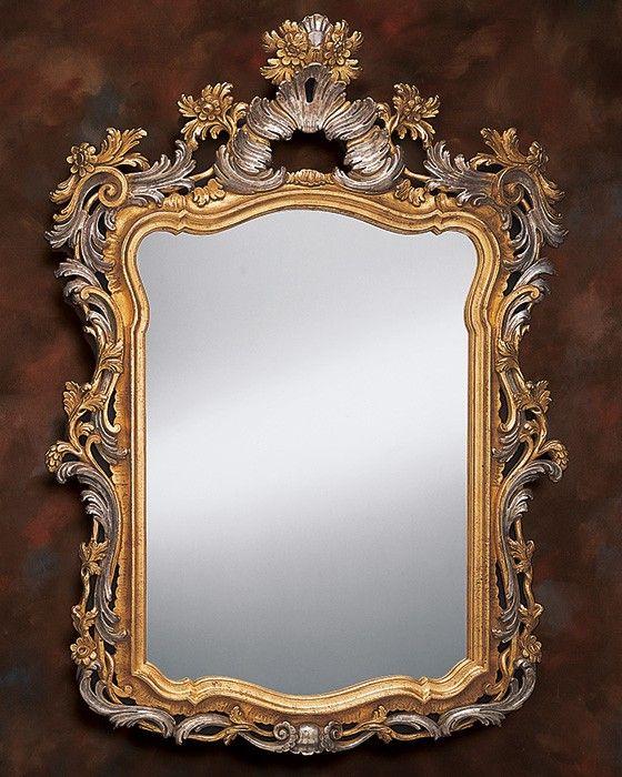 Древнее венецианское зеркало.