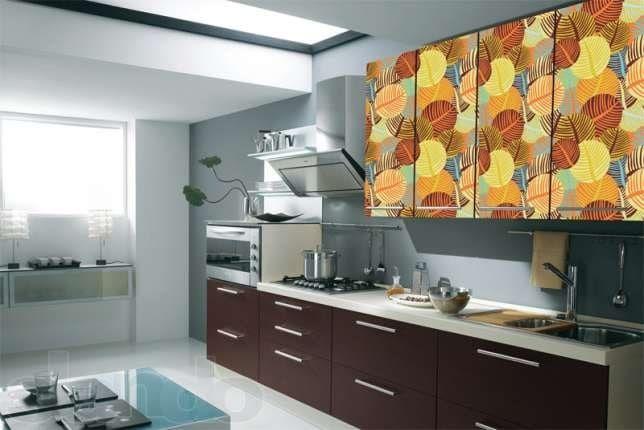 Как обклеить кухонный гарнитур самоклеящейся пленкой