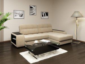 Как раскладывается угловой диван