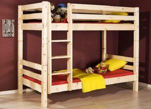 Как собрать двухъярусную кровать.