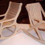 Кресло из фанеры своими руками.