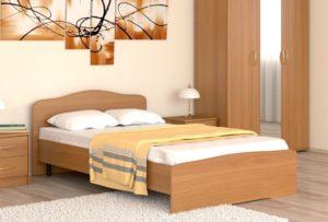 Кровать полуторка: размеры