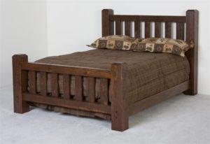Кровать своими руками из дерева.