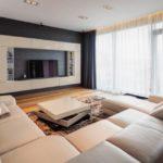 расстояние от дивана до ТВ