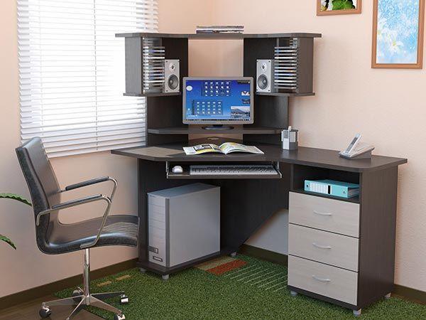 Разновидности компьютерных столов.
