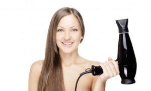 Вредно ли сушить волосы феном.