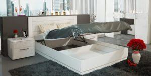 Зачем нужна кровать с подъёмным механизмом.