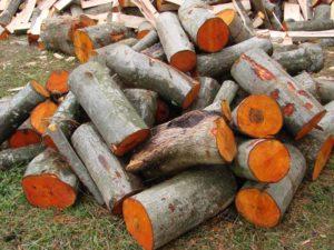 ольха дрова