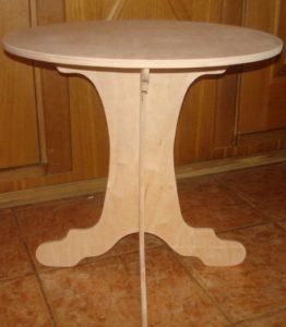 стол из фанеры своими руками