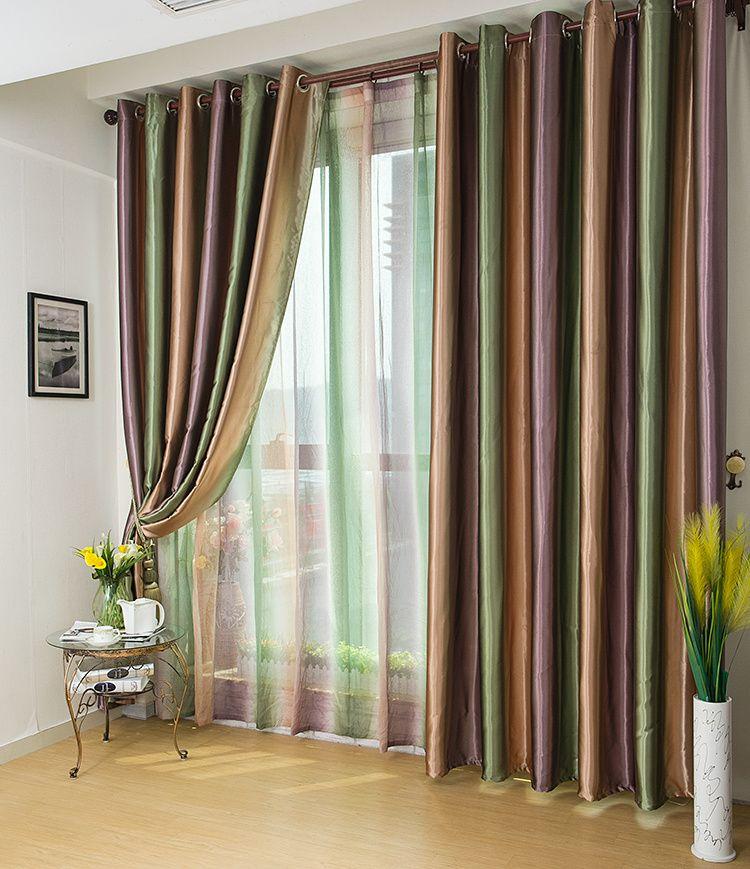 Актуальные ткани для штор.