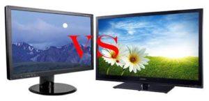 Чем отличается монитор от телевизора