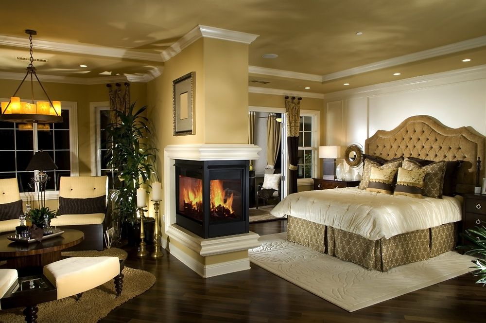 Роскошная мастер-спальня.