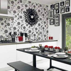 Дизайн кухни с белым гарнитуром
