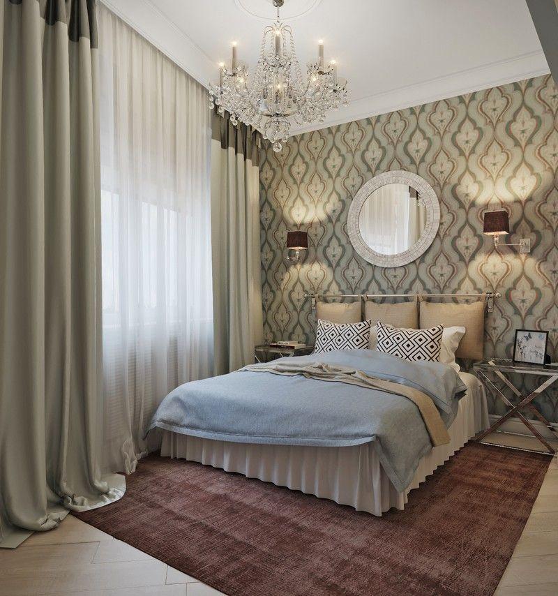 Цветовые решения для маленькой спальни.