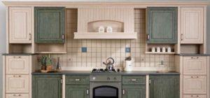 Декор кухонного гарнитура своими руками.