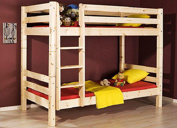 Вариант двухярусной кровати с лестницей.