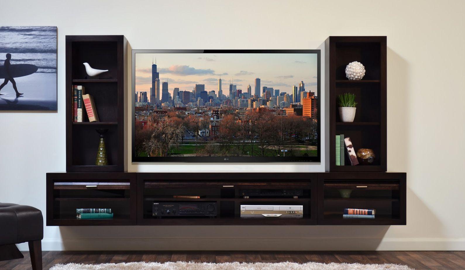Настенная тумба под телевизор.