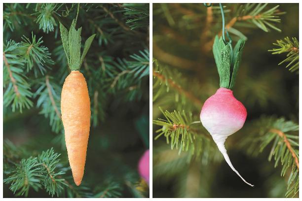 Готовые морковка и редиска.