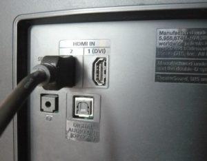 HDMI-подключение