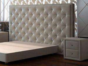Как крепить изголовье к кровати