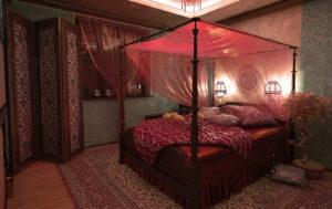 Как сделать спальню в восточном стиле
