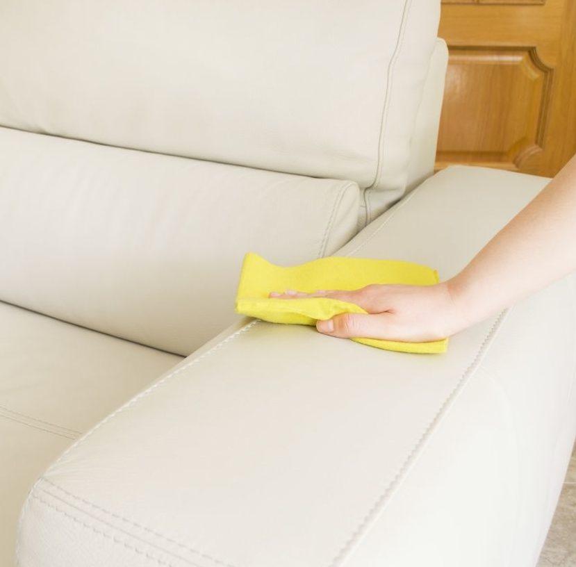 Как почистить кресло.