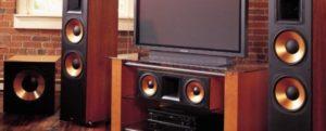 Подключение музыкального центра к телевизору.