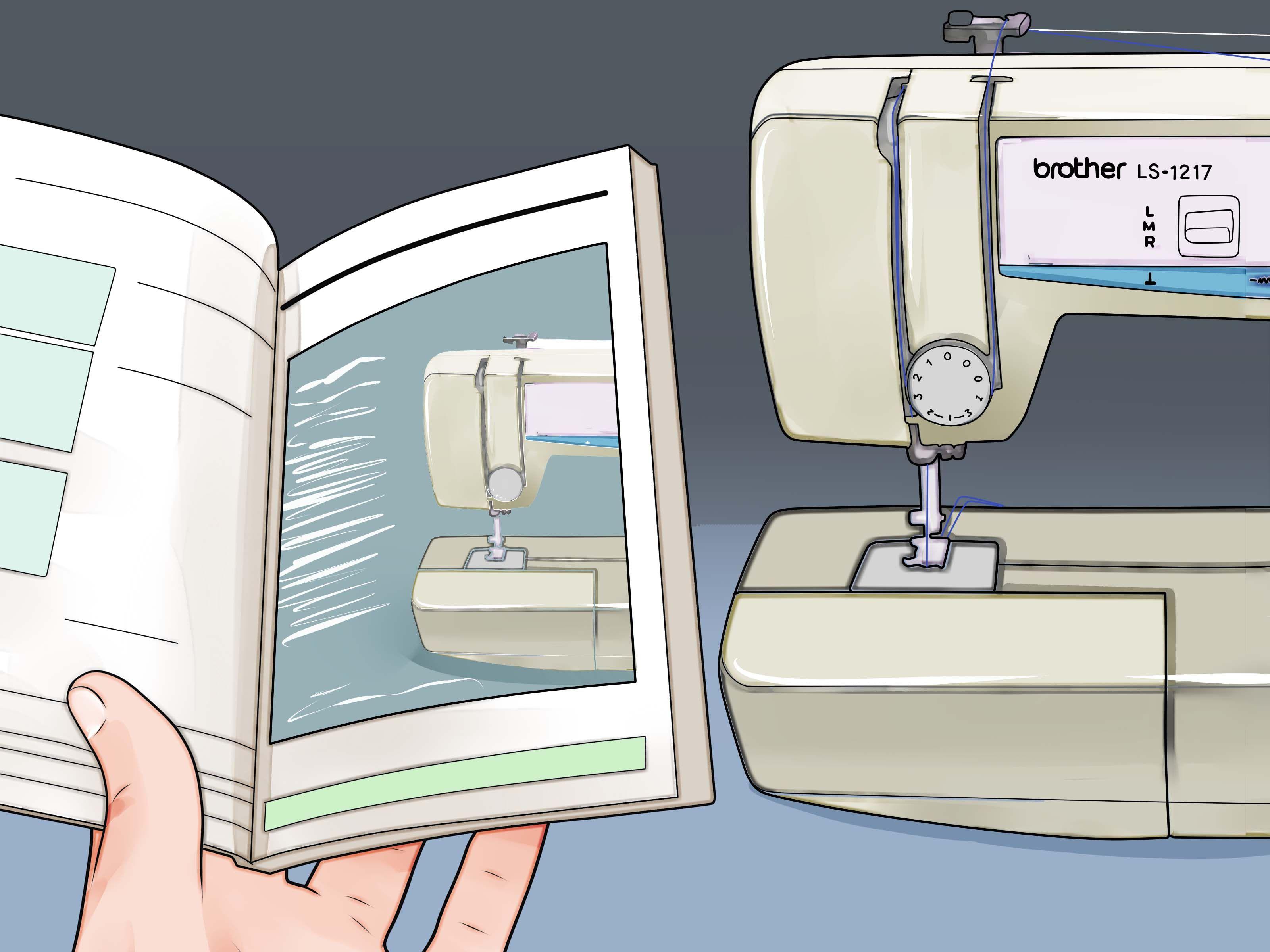Как пользоваться швейной машинкой.