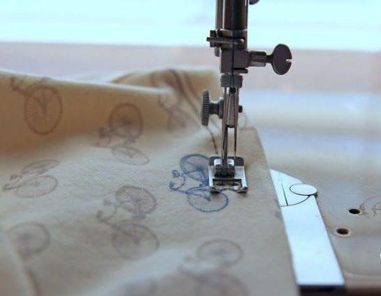 Особенности работы с двойной швейной иглой.