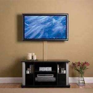 Как спрятать провода от телевизора.